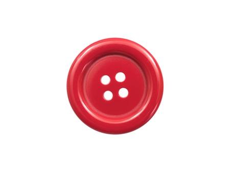 Button vor einem weißen Hintergrund isoliert