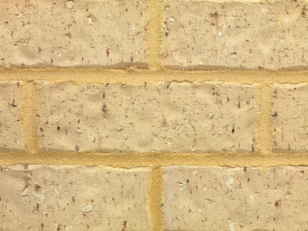 A close shot of a brick wall photo