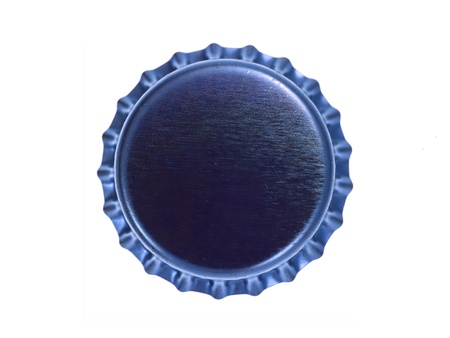 bottle cap: Bottle caps isolated against a white background