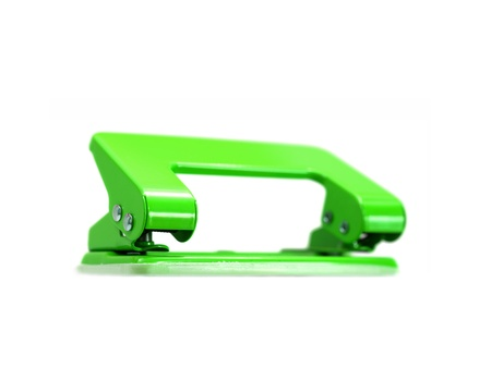 puncher: A hole punch isolated against a white background