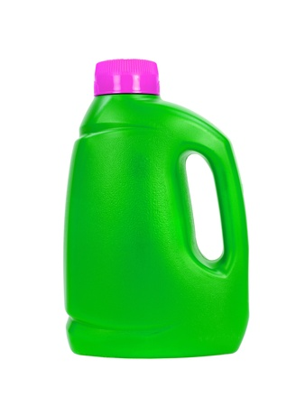 laundry detergent: Laundry detergent isolated against a white background