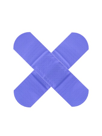 band aid: A band aid isolated against a white background