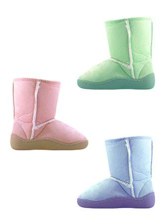 Ugg boots siolated against a white background Stock Photo - 13783929