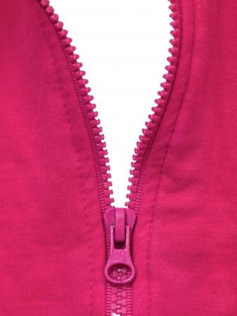 A close up shot of a zipper photo