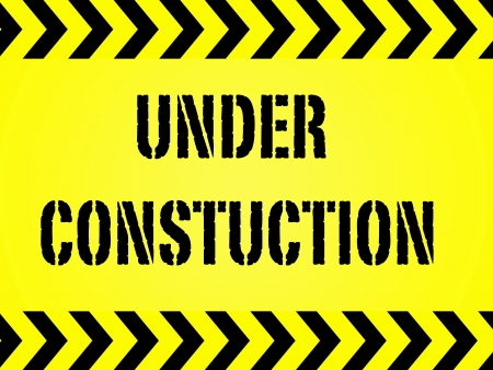 A conceptual maintanence and under construction image photo