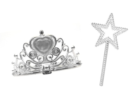 A tiara isolated against a white background photo