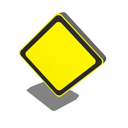 bus anglais: Un signe 3d isolé sur un fond blanc