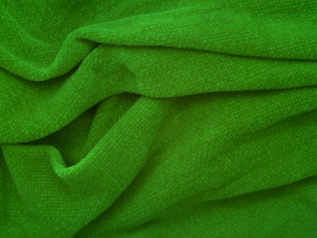 warm things: A close up shot of a colored blanket