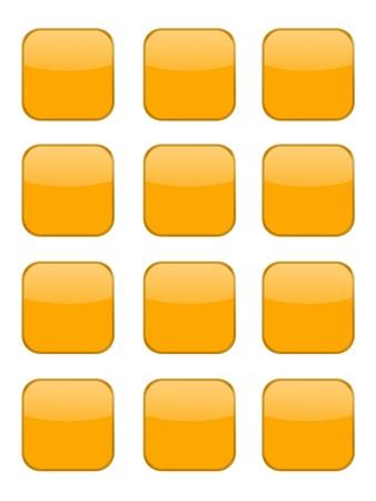 A modern keypad layout isolated on white Stock Photo - 17456076