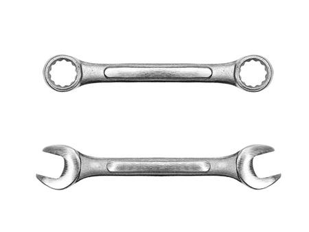 herramientas de construccion: Herramientas aisladas sobre un fondo blanco