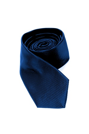 A busness tie isolated against a white background photo