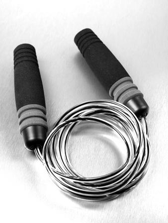 kilograms: Gym sporting equipment on metalic background