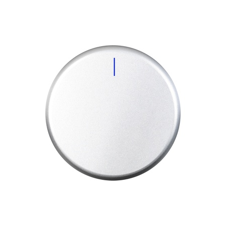 A control switch isolated against a white background photo