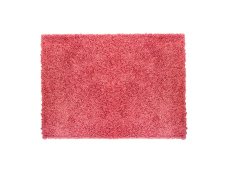 A floor rug isolated on a plain background Stock Photo - 22640919