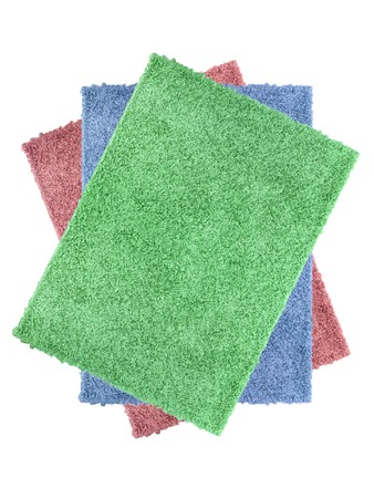 A floor rug isolated on a plain background Stock Photo - 22640930