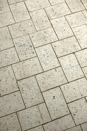 A close up of outdoor brick paving photo