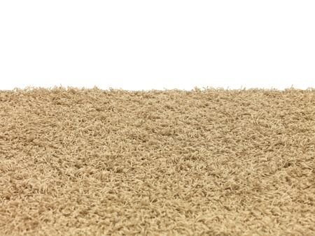 A floor rug isolated on a plain background photo
