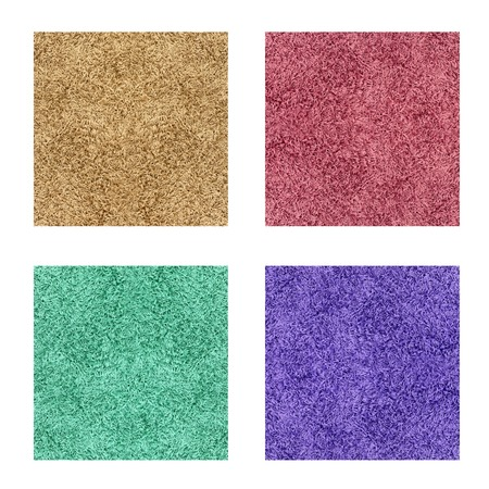 A floor rug isolated on a plain background Stock Photo - 22640943