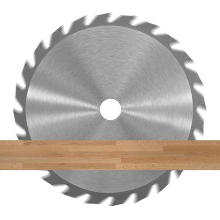 резка: Пильный диск, изолированных на белом фоне Фото со стока