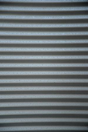 A close up shot of corugated iron Stock Photo