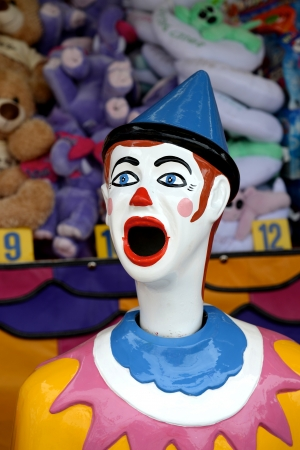 A close up shot of a carnival attraction photo