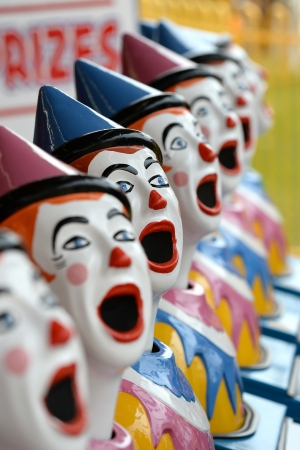 hot house: A close up shot of a carnival attraction Stock Photo