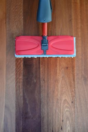 A close up shot od a floor mop Standard-Bild