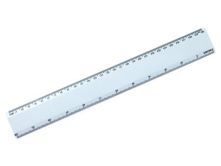 Rulers isolated against a plainwhite background photo