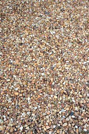A close up shot of gravel rocks photo