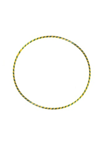 A hoop isolated against a white background