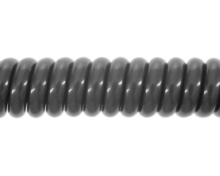 A close up shot of a phone cord photo
