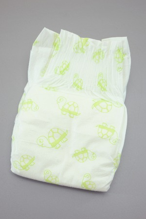 A close up shot of a childs nappy