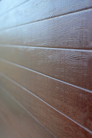 panelling: A close up shot of wood panelling