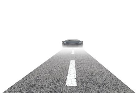A conceptual image go sports super car photo