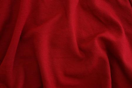 A close up shot of rumpled fabric photo