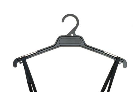 clothes rail: A close up shot opt a coat hanger Stock Photo