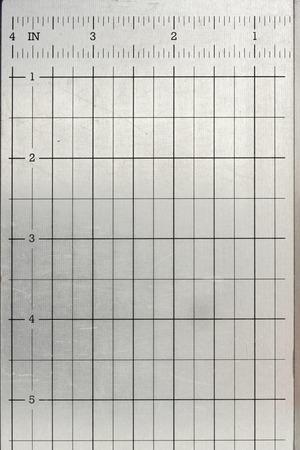 A close up shot of a metal grid photo