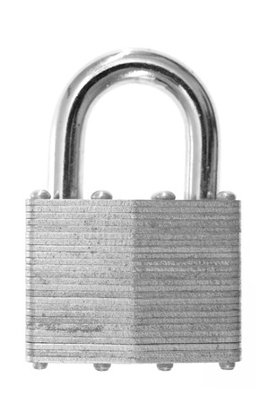 A close up shot of a security lock photo