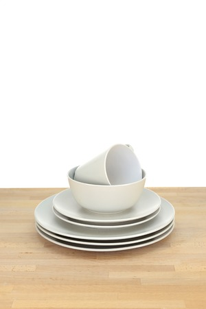 A close up shot of dinning tableware