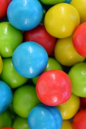 bubble gum: A close up shot of bubble gum Stock Photo
