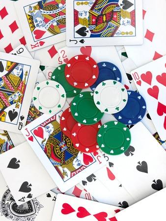 jeu de carte: A close up shot of a card game Banque d'images
