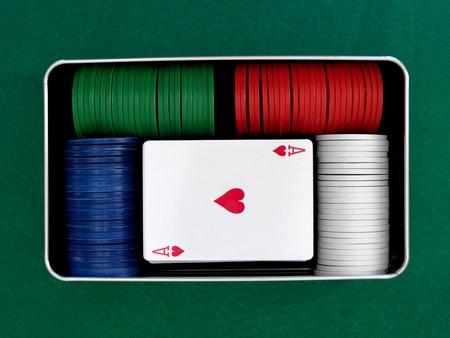 jeu de carte: Un gros plan d'un jeu de cartes Banque d'images