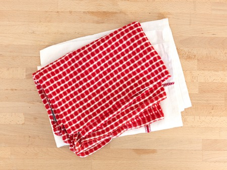 A close up Shot of a kitchen tea towel photo