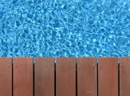 sea side: A close up shot of pool side items