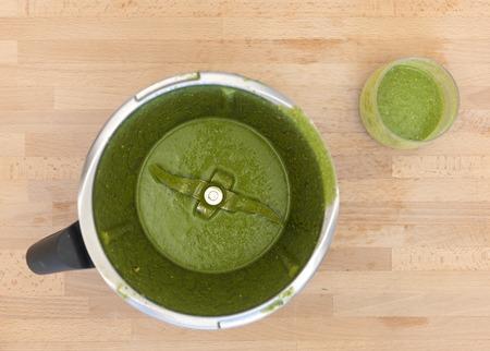 liquidiser: A close up shot of a food blender