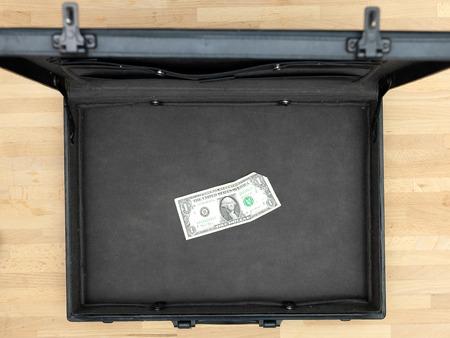 brief case: A close up shot of a business brief case