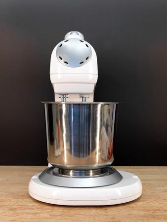 liquidiser: A close up shot of a food mixer