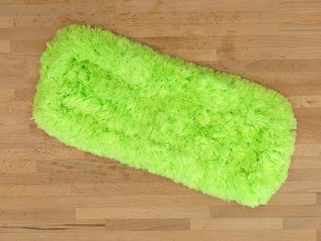empleadas domesticas: Un plano corto de una fregona del piso ecológico Foto de archivo