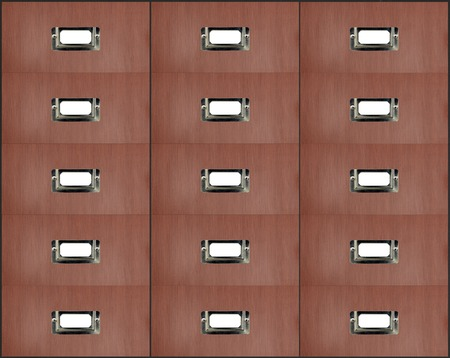 cabinets: A close up shot of business filing cabinets Stock Photo