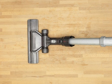 keeping room: A close up shot of a vacuum cleaner Stock Photo